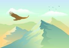 ανύψωση αετών Στοκ εικόνα με δικαίωμα ελεύθερης χρήσης