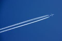 Ανύψωση μέσω του ουρανού Στοκ εικόνες με δικαίωμα ελεύθερης χρήσης