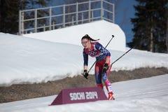 Ανώμαλο σκι Στοκ φωτογραφία με δικαίωμα ελεύθερης χρήσης