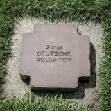 Ανώνυμος γερμανικός τάφος Στοκ Εικόνες
