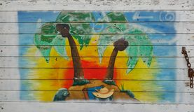 Ανώνυμο χρώμα τέχνης οδών Στοκ εικόνα με δικαίωμα ελεύθερης χρήσης