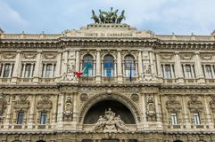 Ανώτατο δικαστήριο της ακύρωσης (Ιταλία) στοκ εικόνα