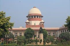 Ανώτατο δικαστήριο της Ινδίας Νέο Δελχί Στοκ Φωτογραφία