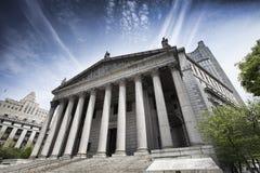 Ανώτατο δικαστήριο πόλεων της Νέας Υόρκης Στοκ Φωτογραφίες