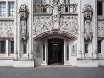 Ανώτατο δικαστήριο στο Λονδίνο Στοκ Εικόνα