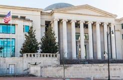 Ανώτατο δικαστήριο της Αλαμπάμα στο Μοντγκόμερυ Στοκ φωτογραφία με δικαίωμα ελεύθερης χρήσης