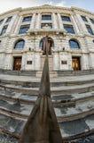 Ανώτατο δικαστήριο της Λουιζιάνας που χτίζει το μπροστινό Λα της Νέας Ορλεάνης Στοκ Εικόνα