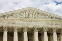 Ανώτατο δικαστήριο των Ηνωμένων Πολιτειών στοκ φωτογραφία