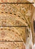 Ανώτατο όριο ενός εξωτερικού Arcade του della Ragione Palazzo στην Πάδοβα Στοκ Εικόνα