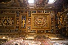 Ανώτατο όριο στη βασιλική του ST John Lateran στη Ρώμη Ιταλία Στοκ Εικόνες