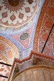 Ανώτατο όριο στο μπλε μουσουλμανικό τέμενος, Ιστανμπούλ στοκ εικόνα με δικαίωμα ελεύθερης χρήσης