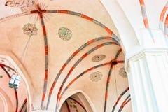 Ανώτατο όριο της εκκλησίας του ST Francis και του ST Bernard Vilnius στοκ εικόνες