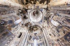 Ανώτατο όριο της εκκλησίας Tigran Honents στην αρχαία πόλη Ani, Kars, Τούρκος Στοκ φωτογραφία με δικαίωμα ελεύθερης χρήσης