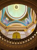 Ανώτατο όριο του κτηρίου του Κοινοβουλίου Βικτώριας Καναδάς Στοκ Φωτογραφίες
