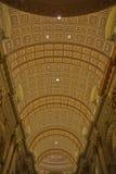 Ανώτατο όριο του Cathédrale Marie-Reine-du-Monde Στοκ φωτογραφία με δικαίωμα ελεύθερης χρήσης