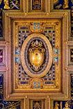 Ανώτατο όριο Archbasilica του ST John Lateran στη Ρώμη Στοκ Φωτογραφία