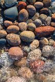 Ανώτερες πέτρες και κυματωγή λιμνών στην ανώτερη χερσόνησο του Μίτσιγκαν Στοκ εικόνα με δικαίωμα ελεύθερης χρήσης