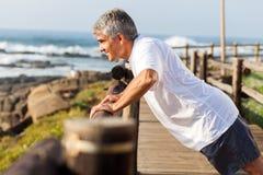 Ανώτερη άσκηση ατόμων Στοκ Εικόνα