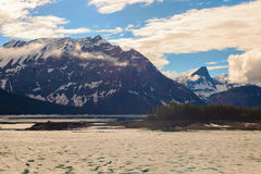 Ανώτερη λίμνη, χώρα Kananaskis, Αλμπέρτα, Καναδάς στοκ εικόνες με δικαίωμα ελεύθερης χρήσης