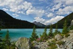 Ανώτερη λίμνη Joffre Στοκ εικόνα με δικαίωμα ελεύθερης χρήσης