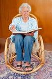 ανώτερη γυναίκα πορτρέτο&upsilo στοκ εικόνες με δικαίωμα ελεύθερης χρήσης