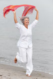 Ανώτερη γυναίκα Στοκ Εικόνες