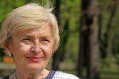 ανώτερη γυναίκα Στοκ φωτογραφίες με δικαίωμα ελεύθερης χρήσης