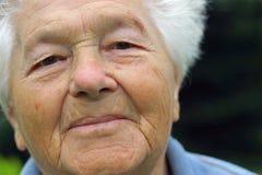 ανώτερη γυναίκα Στοκ εικόνα με δικαίωμα ελεύθερης χρήσης
