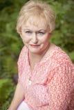 ανώτερη γυναίκα Στοκ Φωτογραφίες
