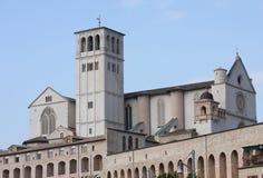 Ανώτερη εκκλησία του SAN Francesco σε Assisi Στοκ Εικόνες