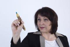 Ανώτερη επιχειρησιακή κυρία Στοκ φωτογραφίες με δικαίωμα ελεύθερης χρήσης
