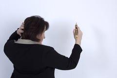 Ανώτερη επιχειρησιακή κυρία Στοκ Φωτογραφία