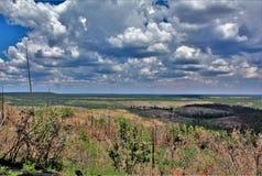 Ανώτερη προοπτική, εθνικό δρυμός Apache Sitgreaves, Αριζόνα, Ηνωμένες Πολιτείες στοκ φωτογραφία