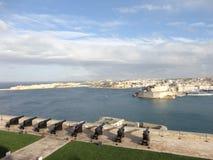 Ανώτεροι κήποι Barrakka, Valletta, Μάλτα Στοκ φωτογραφίες με δικαίωμα ελεύθερης χρήσης