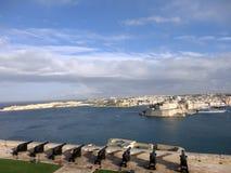 Ανώτεροι κήποι Barrakka, Valletta, Μάλτα Στοκ Εικόνες