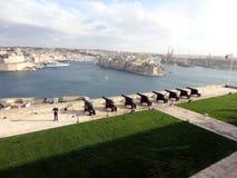 Ανώτεροι κήποι Barrakka, Valletta, Μάλτα Στοκ εικόνες με δικαίωμα ελεύθερης χρήσης
