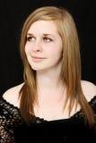 ανώτερος έφηβος πορτρέτο&up Στοκ εικόνα με δικαίωμα ελεύθερης χρήσης
