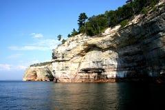 ανώτερος βράχου λιμνών σχηματισμού Στοκ εικόνες με δικαίωμα ελεύθερης χρήσης