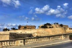Ανώτερος κήπος Baraka σε Valletta, Μάλτα στοκ εικόνα