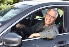 Ανώτερος οδηγός αυτοκινήτων Στοκ φωτογραφίες με δικαίωμα ελεύθερης χρήσης