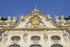ανώτερος παλατιών προσόψ&epsilo Στοκ φωτογραφίες με δικαίωμα ελεύθερης χρήσης