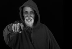 Ανώτερος σκληρός άνδρας Στοκ Φωτογραφίες