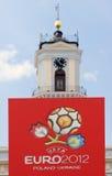 ανώτερος υπάλληλος λογότυπων του 2012 ευρο- Στοκ Φωτογραφία