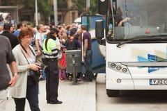 Ανώτερος υπάλληλος τροχαίων Στοκ εικόνες με δικαίωμα ελεύθερης χρήσης