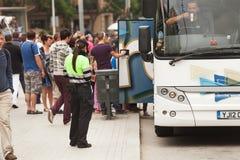 Ανώτερος υπάλληλος τροχαίων Στοκ φωτογραφίες με δικαίωμα ελεύθερης χρήσης
