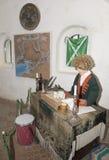 Ανώτερος υπάλληλος τελωνείου στο τελωνείο στο Don River.18 αιώνα (ομοίωμα Στοκ Εικόνα