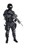 Ανώτερος υπάλληλος SWAT Στοκ Εικόνες