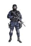 Ανώτερος υπάλληλος SWAT Στοκ εικόνες με δικαίωμα ελεύθερης χρήσης