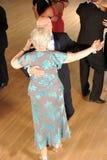 Ανώτερος χορός αιθουσών χορού ζευγών Στοκ Εικόνα
