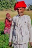 Ανώτερο άτομο Rajasthani στοκ φωτογραφία με δικαίωμα ελεύθερης χρήσης
